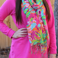 Lazy Days Tunic: Pink - Off the Racks Boutique