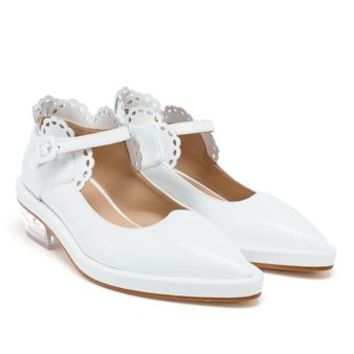 SIMONE ROCHA | Patent Leather Mary Janes | Browns fashion & designer clothes & clothing