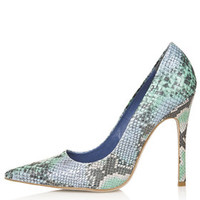 GALLOP Snake-Effect Court Shoes - View All - Shoes