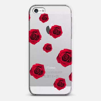 Red Rose iPhone 5 case by DuckyB | Casetify
