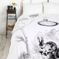 UrbanOutfitters.com &gt; White Rabbits Duvet Cover