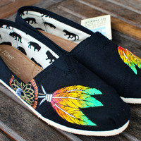 Rasta Dream Catcher TOMS