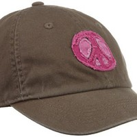 Life is Good Women`s Tattered Peace Chill Cap (Earthy Brown, One Size) $22.00