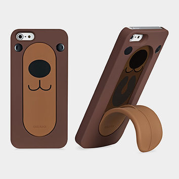 O!coat Snap Stand iPhone5 Case Bear   MoMA