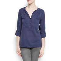 Mango Women`s Pockets Shirt $34.99