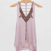 Gimmicks By BKE Crochet Tank Top