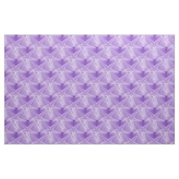 Starfish Purple Beach Fabric