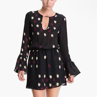 Parker Bell Sleeve Keyhole Dress | Nordstrom