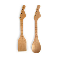 Kikkerland Design   » Products  » ROCKIN SPOON AND SPATULA SET