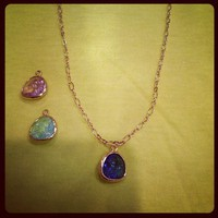 Gemstone Necklace from La Fede Boutique