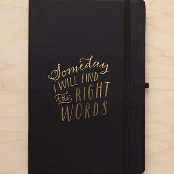 Eccolo Find The Right Words Journal