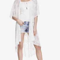 LONG LACE KIMONO from EXPRESS