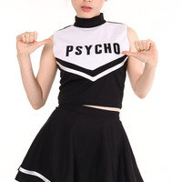 Glitters For Dinner — Made To Order - Team Psycho Cheerleading Set