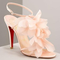 Christian Louboutin Petal pink sandals - &amp;#36;199.00