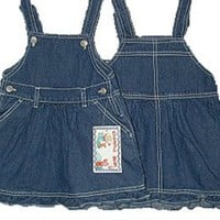 Infants Size 12M/18M/24M Cotton Denim Jumper Dress $10.99 - $35.99