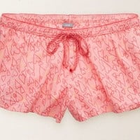 Aerie Women's Boxer (Strawberry Ice)