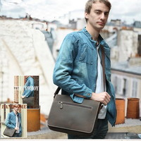 Countryside leather work messenger bags for men - $149.60 : Notlie handbags, Original design messenger bags and backpack etc
