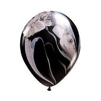 Black Marble Balloons $12