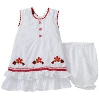 So La Vita Baby-girls Infant Ladybug Dress $17.99