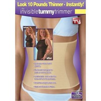 Invisible Tummy Trimmer, Beige. Mediium $12.99