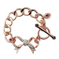 Juicy Couture | Pave Bow Starter Bracelet