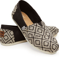 BLACK WOVEN DIAMOND WOMEN'S CLASSICS
