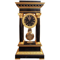 Antique French Magnificent Charles X Clock, circa 1830-1840