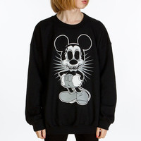 Zombie Mouse Crew Neck Sweatshirt