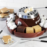 Nostalgia Electrics SMM300 S'Mores Maker, Brown
