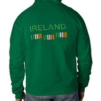 St. Patrick's Day Ireland Flags Sweatshirt from Zazzle.com