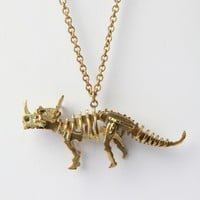 Galibardy Triceratops Skeleton Necklace - Punk.com