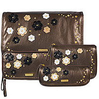 Sephora: SEPHORA COLLECTION Floral Funk Bag Collection - Bronze: Makeup & Travel Bags