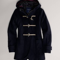 AE Hooded Toggle Duffle Coat | American Eagle Outfitters