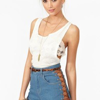 Nasty Gal x MINKPINK Dakota Denim Shorts