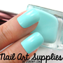 Tiffany Blue - Mint Blue Green Nail Polish Lacquer 16ml from nailartsupplies