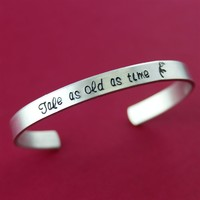 Tale as Old as Time Cuff Bracelet - Spiffing Jewelry