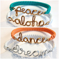 Custom Wire Bracelets
