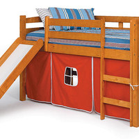 Pipkin's Twin Playhouse Fort Loft Bed