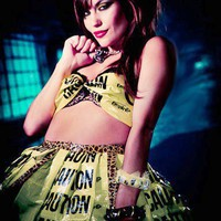 Caution Tape Couture Skirt