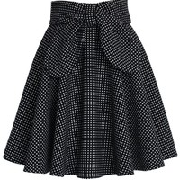 Delight in Dots A-line Skirt