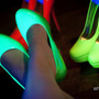 Wild Rose Roza05 Neon Platform Stiletto Pumps - Shoes 4 U Las Vegas