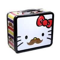 Art Effect | Hello Kitty Mustache Lunch Box