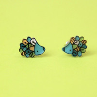 Hedgehogs Studs Earrings
