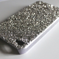 Lady Gaga Inspired Diamond Dust Covered iPhone 4 Case