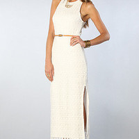 The Lynnie Dress in Natural White