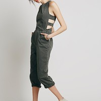 Free People Womens Minimal One Piece - Charcoal Grey