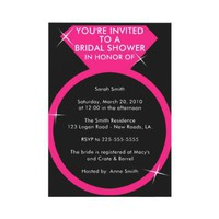 Bridal Shower (Today's Best Award) Custom Invitations from Zazzle.com