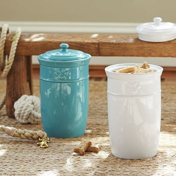 CAMBRIA PET TREAT CANISTER