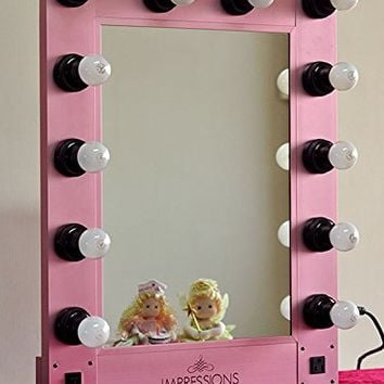 Hollywood Vanity Mirror By Impressions Vanity Pink