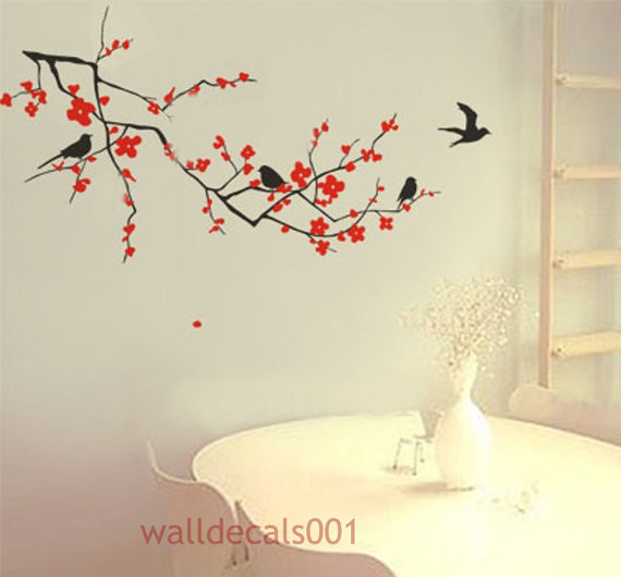 Cherry Blossom Wall Decal Wall Sticker ArtHome by walldecals001